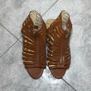 Michael Kors gladiator sandals with small wedge